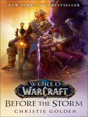 cover image of Before the Storm (World of Warcraft)