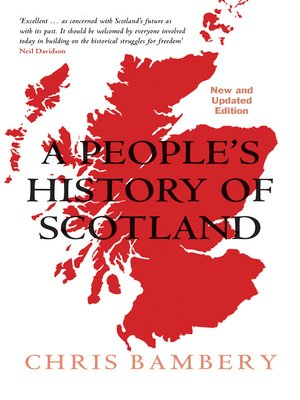 cover image of A People's History of Scotland