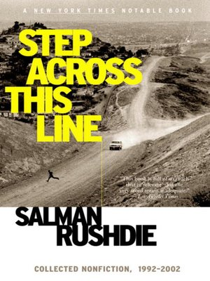 cover image of Step Across This Line