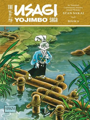 cover image of Usagi Yojimbo Saga Volume 6