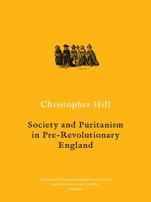 cover image of Society and Puritanism in Pre-revolutionary England