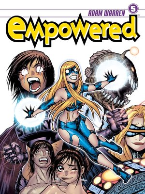 cover image of Empowered (2007), Volume 5