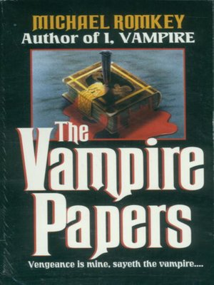 cover image of The Vampire Papers