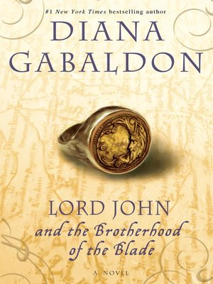 cover image of Lord John and the Brotherhood of the Blade