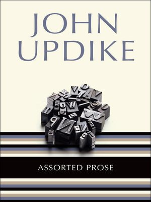 cover image of Assorted Prose