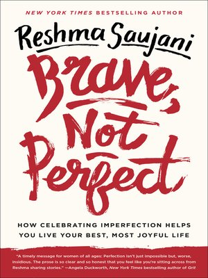 cover image of Brave, Not Perfect