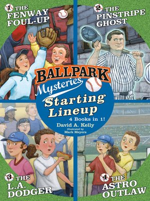 cover image of Ballpark Mysteries
