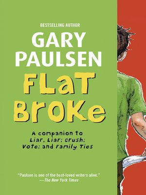 cover image of Flat Broke: The Theory, Practice and Destructive Properties of Greed