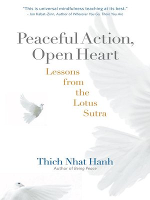 cover image of Peaceful Action, Open Heart