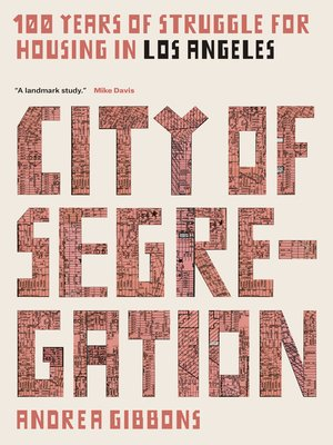 cover image of City of Segregation