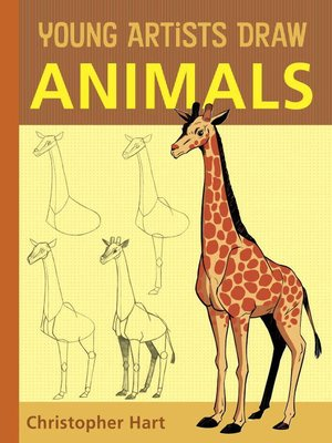cover image of Young Artists Draw Animals