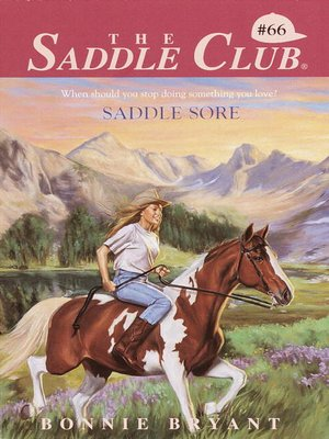 cover image of Saddle Sore