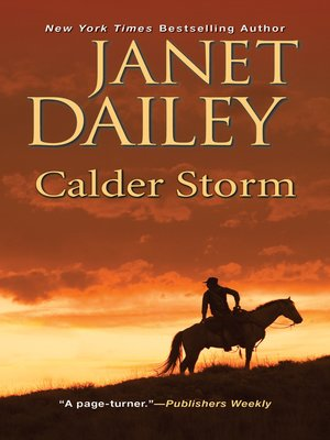 cover image of Calder Storm