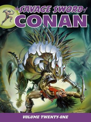 cover image of Savage Sword of Conan, Volume 21