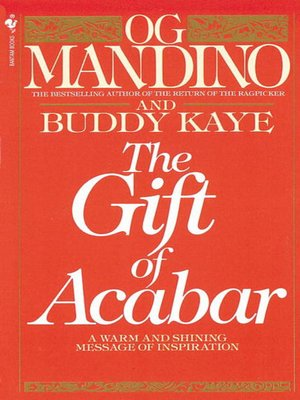 cover image of The Gift of Acabar