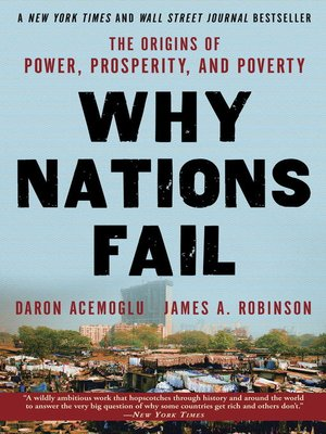 cover image of Why Nations Fail