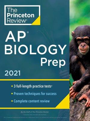 cover image of Princeton Review AP Biology Prep, 2021