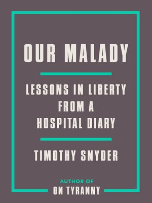 cover image of Our Malady