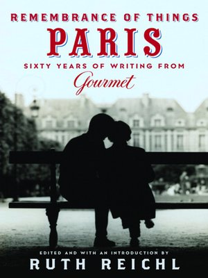 cover image of Remembrance of Things Paris