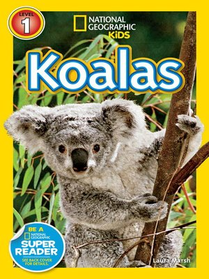 cover image of National Geographic Readers: Koalas