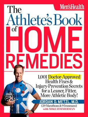 cover image of The Athlete's Book of Home Remedies