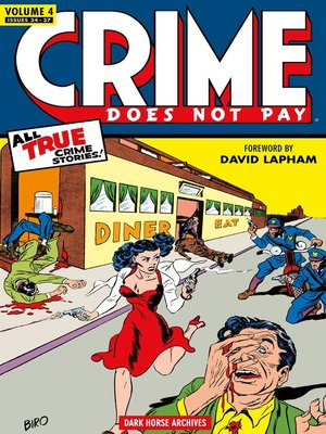 cover image of Crime Does Not Pay Archives, Volume 4