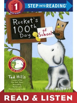 cover image of Rocket's 100th Day of School