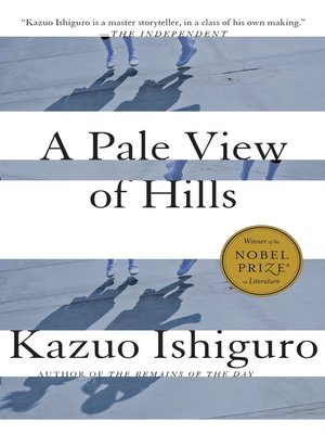 cover image of A Pale View of Hills