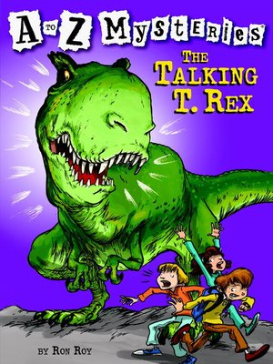 cover image of The Talking T. Rex