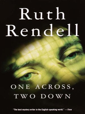 cover image of One Across, Two Down