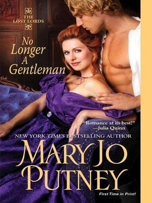 cover image of No Longer A Gentleman