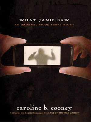 cover image of What Janie Saw