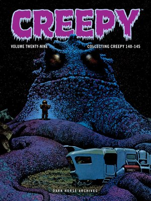 cover image of Creepy Archives, Volume 29