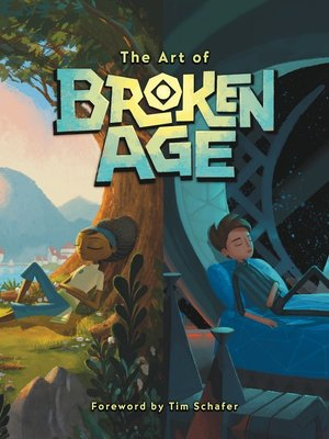 cover image of The Art of Broken Age