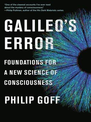 cover image of Galileo's Error