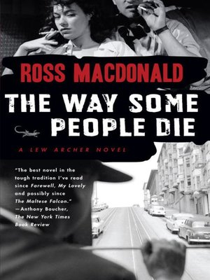 cover image of The Way Some People Die