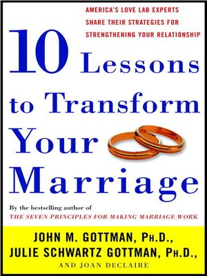 cover image of Ten Lessons to Transform Your Marriage