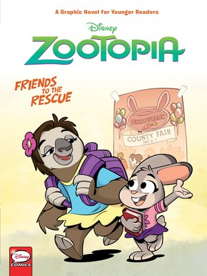 cover image of Disney Zootopia: Friends to the Rescue