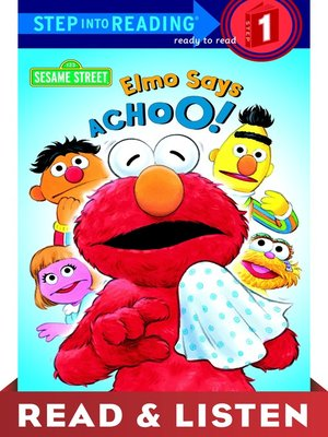 cover image of Elmo Says Achoo!