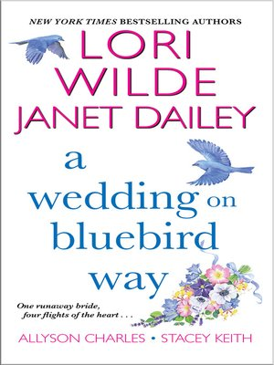 cover image of A Wedding on Bluebird Way