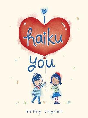cover image of I Haiku You