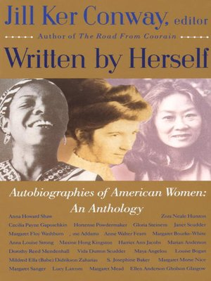 cover image of Autobiographies of American Women: an Anthology