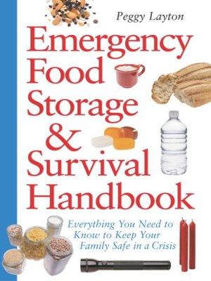 cover image of Emergency Food Storage & Survival Handbook