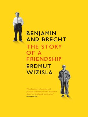 cover image of Benjamin and Brecht