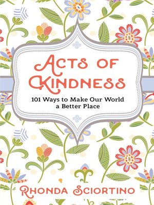 cover image of Acts of Kindness
