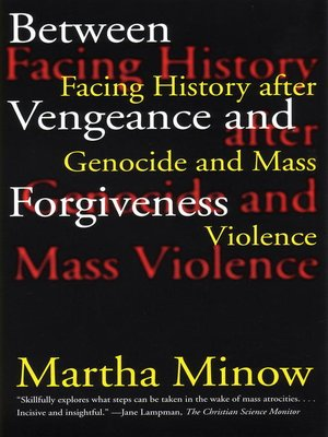 cover image of Between Vengeance and Forgiveness