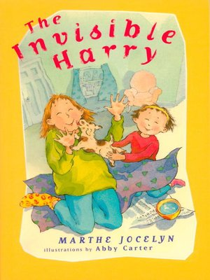 cover image of The Invisible Harry