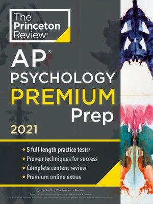 cover image of Princeton Review AP Psychology Premium Prep, 2021