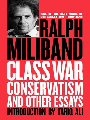 cover image of Class War Conservatism