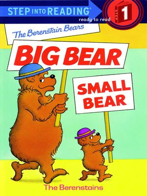 cover image of The Berenstain Bears' Big Bear, Small Bear